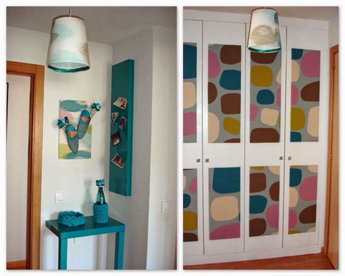 Recicla reinventa y crea personaliza tus muebles de ikea - Como decorar un armario ...