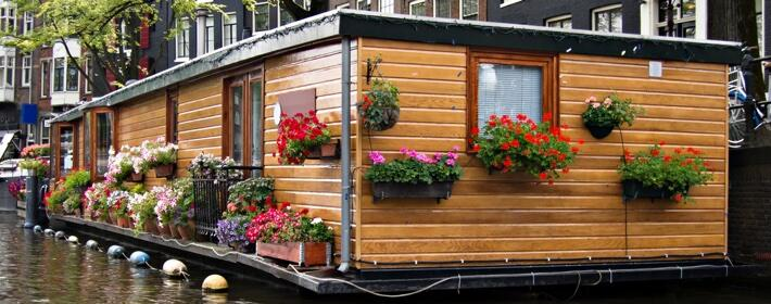 Un modalidad de casa ecológica en auge: Casas flotantes