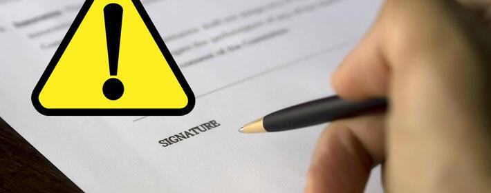 Estas son las cláusulas nulas que puede contener un contrato de alquiler