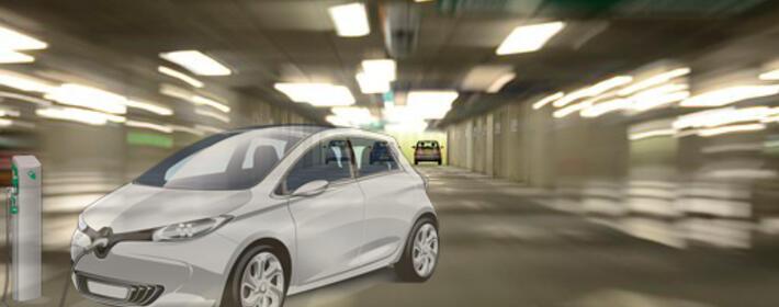 Instalación puntos de recarga de vehículos eléctricos en plazas garaje