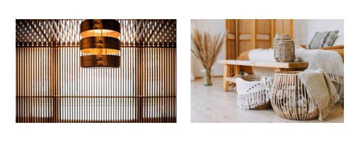 20 propuestas en decoración con bambú