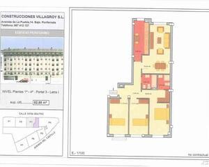 Piso de 3 habitaciones en Alta, Ponferrada