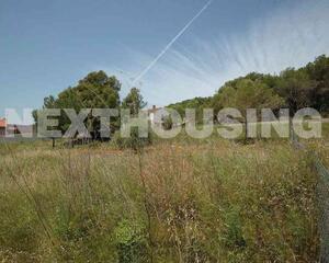 Terreno con vistas en Mas Alba, Sitges