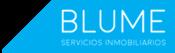 Blume, servicios inmobiliarios