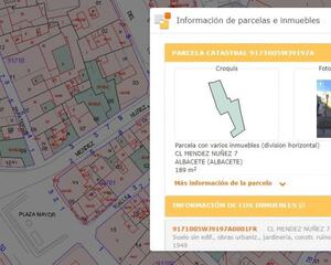 Solar en Ayuntamiento, Albacete