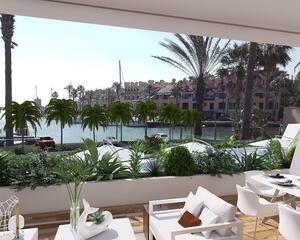 Apartamento con jardin en Marina, La Mangueta Sotogrande
