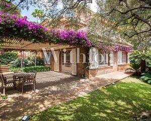 Casa con jardin en Pedralbes, Les Corts Barcelona