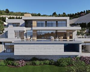 Villa de 4 habitaciones en Benissa