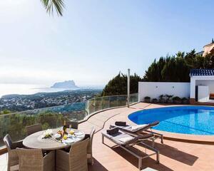Villa de 3 habitaciones en Montemar, Benissa