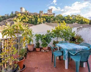 Casa con chimenea en Albaycin, Albaicín Granada