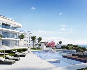 Apartamento con vistas al mar en Calaburra , Mijas