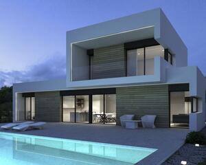 Villa con garaje en Benissa