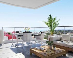 Apartamento con terraza en Calaburra , Mijas
