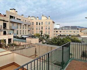 Piso con terraza en La Creu Alta, Sabadell
