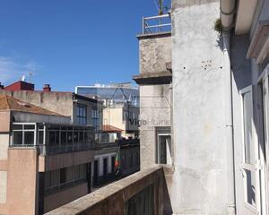 Piso con terraza en Principe, Areal Vigo